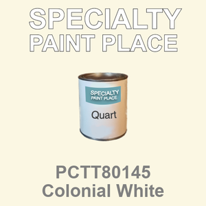 PCTT80145 Colonial White - PPG - Quart Can
