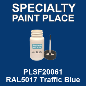PLSF20061 RAL5017 Traffic Blue - IFS 2oz bottle