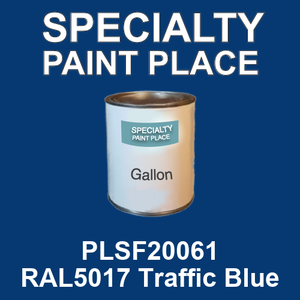 PLSF20061 RAL5017 Traffic Blue - IFS gallon