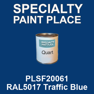 PLSF20061 RAL5017 Traffic Blue - IFS quart