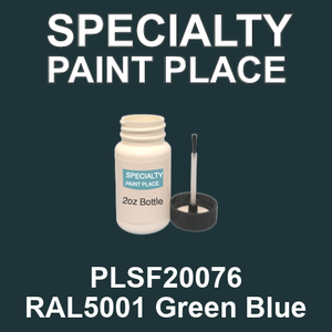 PLSF20076 RAL5001 Green Blue - IFS 2oz bottle