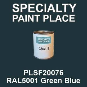 PLSF20076 RAL5001 Green Blue - IFS quart