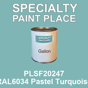 PLSF20247 RAL6034 Pastel Turquoise - IFS gallon