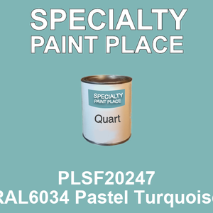 PLSF20247 RAL6034 Pastel Turquoise - IFS quart