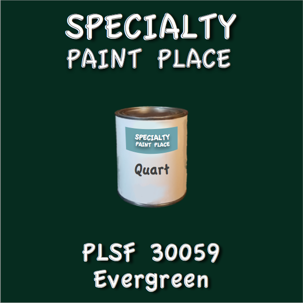PLSF30059 Evergreen - IFS - Quart Can