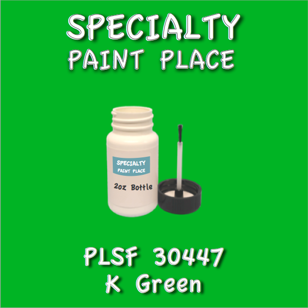 PLSF30447 K Green - IFS - 2oz Bottle with Brush