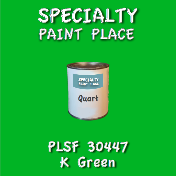 PLSF30447 K Green - IFS - Quart Can