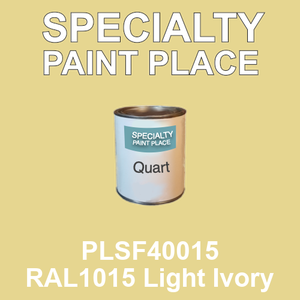 PLSF40015 RAL1015 Light Ivory - IFS quart