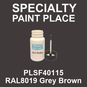 PLSF40115 RAL8019 Grey Brown - IFS 2oz bottle