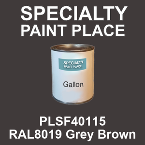 PLSF40115 RAL8019 Grey Brown - IFS gallon