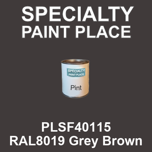 PLSF40115 RAL8019 Grey Brown - IFS pint