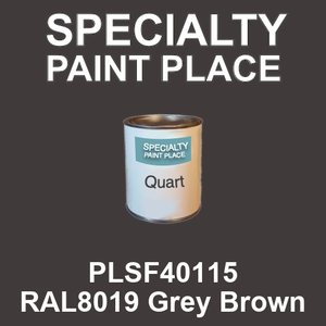 PLSF40115 RAL8019 Grey Brown - IFS quart