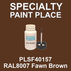 PLSF40157 RAL8007 Fawn Brown - IFS 2oz bottle