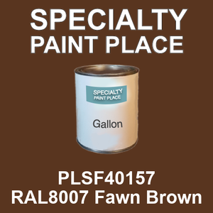 PLSF40157 RAL8007 Fawn Brown - IFS gallon