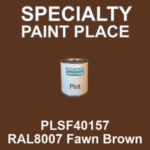 PLSF40157 RAL8007 Fawn Brown - IFS pint