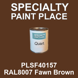 PLSF40157 RAL8007 Fawn Brown - IFS quart