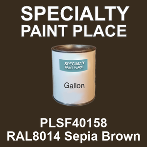 PLSF40158 RAL8014 Sepia Brown - IFS gallon