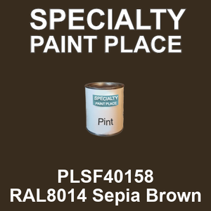 PLSF40158 RAL8014 Sepia Brown - IFS pint