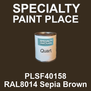 PLSF40158 RAL8014 Sepia Brown - IFS quart