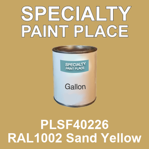 PLSF40226 RAL1002 Sand Yellow - IFS gallon