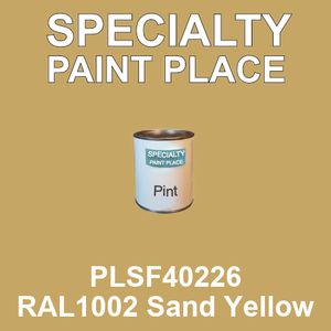 PLSF40226 RAL1002 Sand Yellow - IFS pint