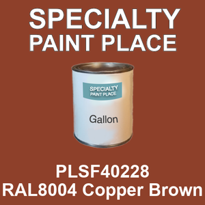 PLSF40228 RAL8004 Copper Brown - IFS gallon