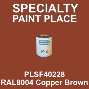 PLSF40228 RAL8004 Copper Brown - IFS pint