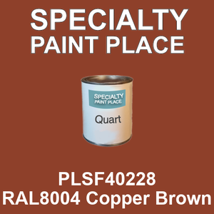 PLSF40228 RAL8004 Copper Brown - IFS quart