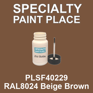 PLSF40229 RAL8024 Beige Brown - IFS 2oz bottle