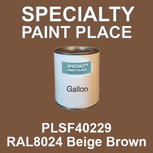 PLSF40229 RAL8024 Beige Brown - IFS gallon