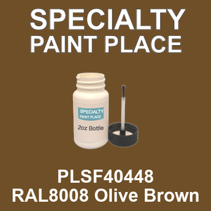 PLSF40448 RAL8008 Olive Brown - IFS 2oz bottle