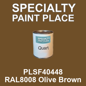 PLSF40448 RAL8008 Olive Brown - IFS quart