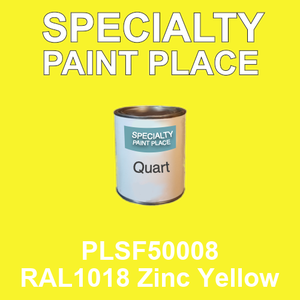 PLSF50008 RAL1018 Zinc Yellow - IFS quart