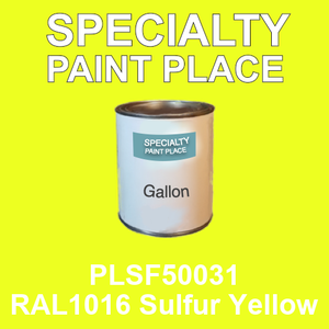 PLSF50031 RAL1016 Sulfur Yellow - IFS gallon