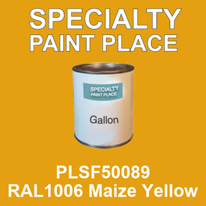 PLSF50089 RAL1006 Maize Yellow - IFS gallon