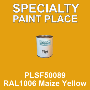 PLSF50089 RAL1006 Maize Yellow - IFS pint