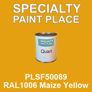 PLSF50089 RAL1006 Maize Yellow - IFS quart