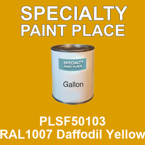 PLSF50103 RAL1007 Daffodil Yellow - IFS gallon