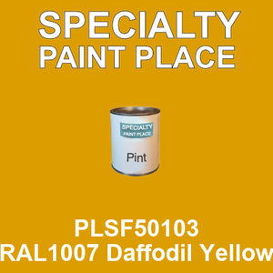 PLSF50103 RAL1007 Daffodil Yellow - IFS pint