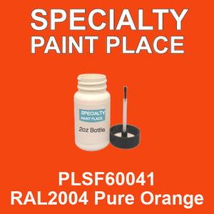 PLSF60041 RAL2004 Pure Orange - IFS 2oz bottle