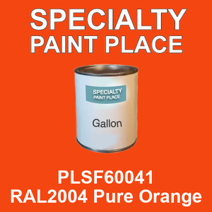 PLSF60041 RAL2004 Pure Orange - IFS gallon