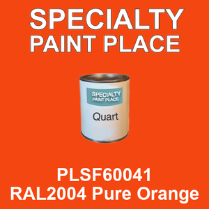 PLSF60041 RAL2004 Pure Orange - IFS quart