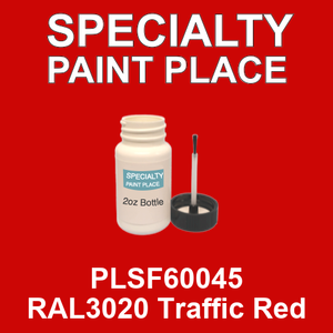 PLSF60045 RAL3020 Traffic Red - IFS 2oz bottle