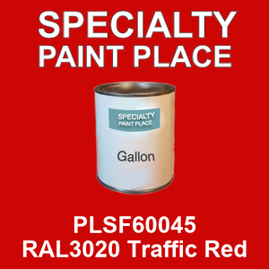 PLSF60045 RAL3020 Traffic Red - IFS gallon