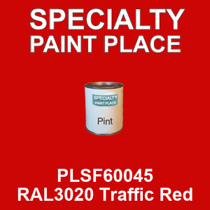 PLSF60045 RAL3020 Traffic Red - IFS pint