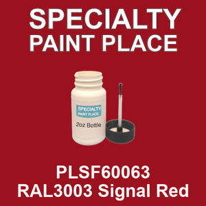 PLSF60063 RAL3003 Signal Red - IFS 2oz bottle