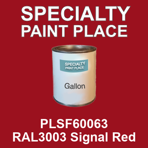 PLSF60063 RAL3003 Signal Red - IFS gallon