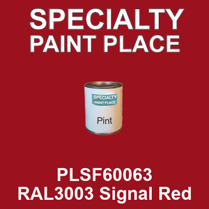 PLSF60063 RAL3003 Signal Red - IFS pint