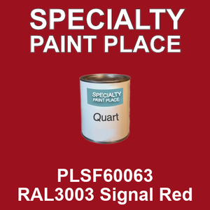 PLSF60063 RAL3003 Signal Red - IFS quart