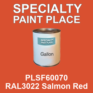 PLSF60070 RAL3022 Salmon Red - IFS gallon